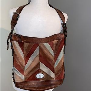 Fossil women's large pocketbook
